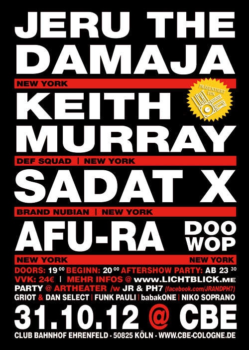 31-10-12--jeru-the-damaja,--sadat-x,--keith-murray,--afu-ra,--dj-doo-wop