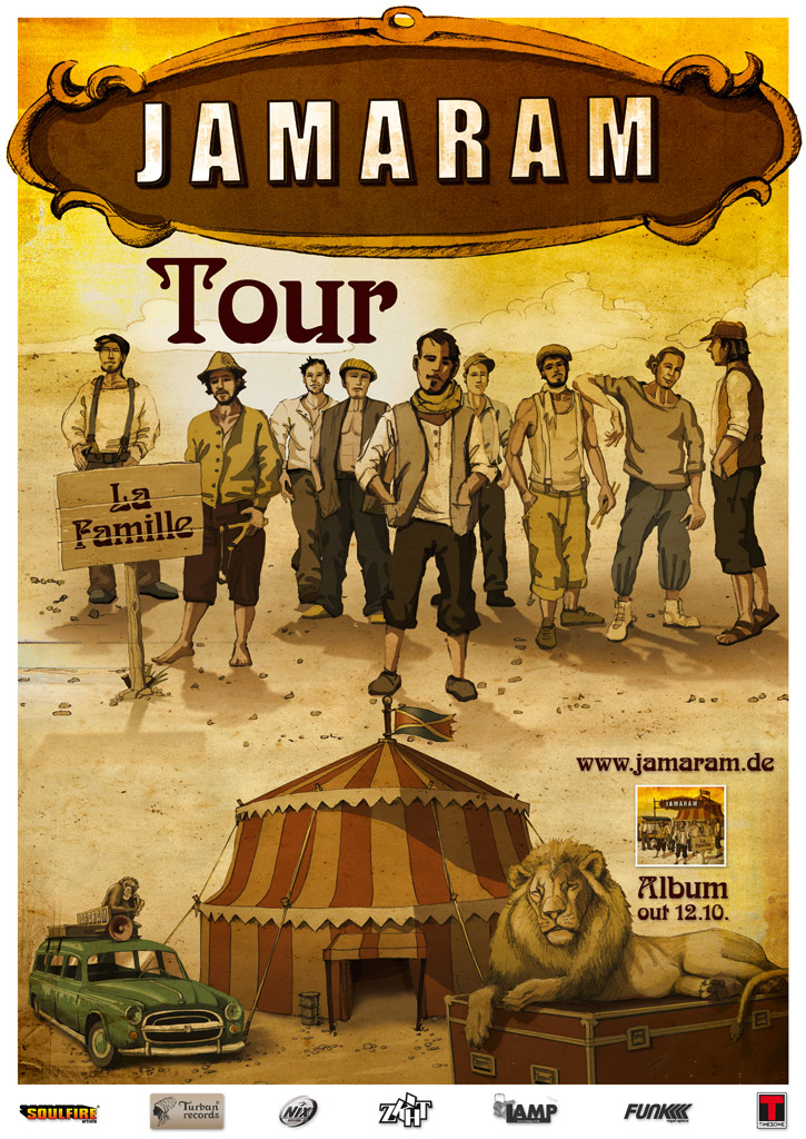 jamaram-la-famille-tour-2012